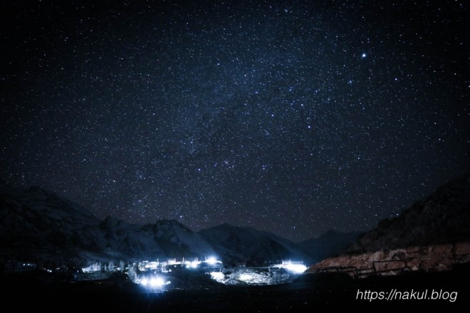 Spiti Night Photography at Nako